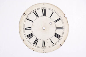 American weight driven banjo clock iron dial @ early 1800s Original Excellent