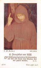 "Fleißbildchen Heiligenbild Andachtsbild Holy card ars sacra""H1995"" MESSOPFER"