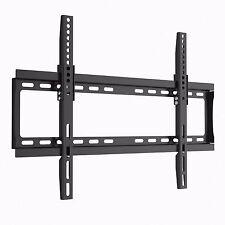 Slim Fit Black TV Wall Mount Bracket for Samsung LG Sony Philip Sharp Hitachi
