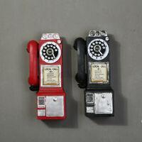 Vintage Style Rotary Téléphone Rotatif Mural Cadran Phone Modèle Collection