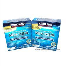 Kirkland Extra Strength Men Hair Regrowth Solution Minoxidil 5% 12 Month Supply