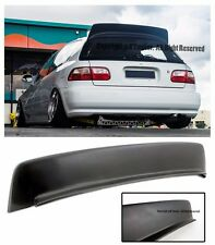 For 92-95 Honda Civic 3Dr BYS Style ABS Plastic Rear Roof Wing Spoiler Lip EG SI