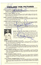 BLACK FRIDAY SPECIAL WORLD CUP SIGNATURES 66 BOBBY MOORE ALF RAMSEY GORDON BANKS