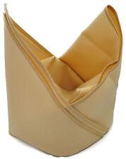Cotton napkins in beige -  10 per pack of hotel quality - plain - 55cm Square