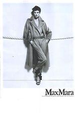 PUBLICITE ADVERTISING  2012  MAX MARA haute couture manteau collection automne