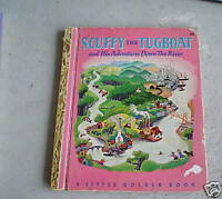 1946 Golden Book Scuffy the Tugboat by Crampton