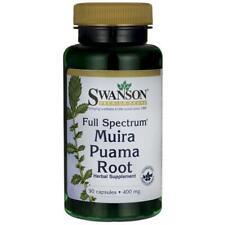 Swanson completo espectro Muira puama raíz 400mg 90 Cápsulas