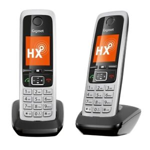 GIGASET C430 HX DUO schwarz  Schnurlos DECT Telefon Neu OVP + Ladeschale Akku