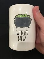🔮NEW RAE DUNN LL WITCH'S BREW Halloween Candle Midnight Apple  HTF