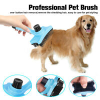 Pet Dog Cat Puppy Hair Grooming Shedding Tool Comb Trimmer Bath Massage Comb