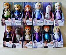 Disney Princess Frozen 2 Mini Toddler 3 Inch Posable Doll -Choose Your Favourite