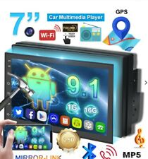 7'' 2Din Android 8.1 Coche Reproductor Mp5 Radio Estéreo HD Pantalla táctil WIFI