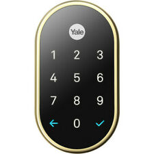 Nest x Yale Lock With Nest Connect - Brass - US