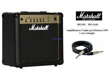 Marshall MG15G MG Gold Amplificatore Combo 15W per Chitarra Elettrica + cavo