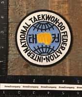 Vintage INTERNATIONAL TAE KWON DO FEDERATION Patch ITF