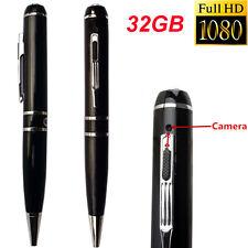 32GB HD 1080P Hidden Mini Spy Pen Usb Camera Camcorder Video Security Recorder