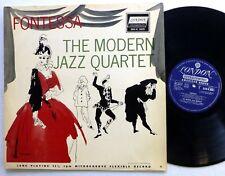 MODERN JAZZ QUARTET Fontessa LP London 6031 bop jazz UK press  #1403