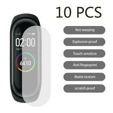 10Pc/Set TPU Full Cover HD Explosion-proof Screen Protector For Xiaomi Mi Band 4