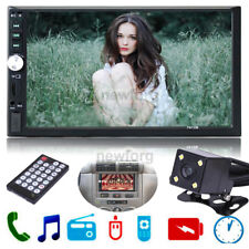 "7"" Hd Bluetooth Touchscreen Double 2 Din In dash Car Stereo Radio Mp3 Tv Player"