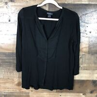 Lucky Brand Womens Black Top Small