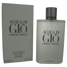 Acqua di Gio By Giorgio Armani 6.7 oz. (200ml) Eau de Toilette for Men Sealed