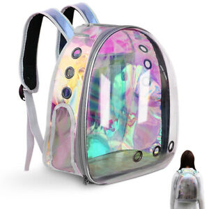 Pet Carrier Backpack Capsule Travel Dog Cat Bag Breathable Astronaut Space Puppy