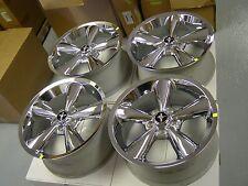 NOS OEM Ford Racing 2005 - 2009 Mustang Chrome Bullitt Wheels 2006 2007 2008 GT