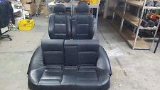 BMW E46 Limousine Sitze Lederausstattung Ausstattung schwarz