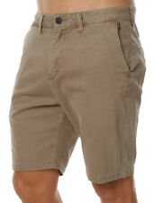 "NEW + TAG BILLABONG MENS SIZE 38"" NEW ORDER TWILL WALK SHORTS STRETCH KHAKI"