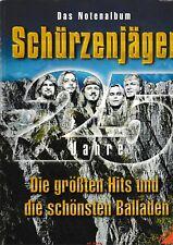 Das Notenalbum SCHÜRZENJÄGER, die größten Hits. Piano, Vocal, Chords.