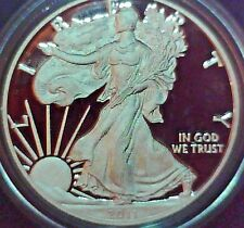 2011-W 1 oz Proof Silver American Eagle Coin - with Box and COA