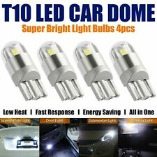 4X T10 Bulbs W5W 501 Canbus Lights LED COB SMD 3030 Bright White Car
