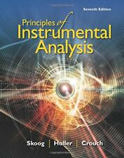 Principles of Instrumental Analysis, Crouch, Skoog, Holler 9781305577213 New,.