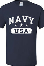 US NAVY T Shirt Tee US Military Soldier USN USA