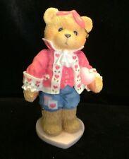Cherished Teddies Darrel #156450 - Love Unveils A Happy Heart