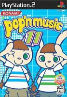 USED PS2 PlayStation 2 Pop'n Music 11 20769 JAPAN IMPORT