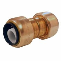 "Apollo Copper PUSH FIT 3/4"" x 3/4"" Copper/CPVC/PEX Pipe SLIP COUPLING"