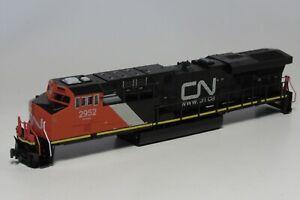 "Kato ""N"" GE ES44AC Canadian National CN #2952 Diesel Shell & Tank NIB- FAST SHIP"