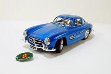 Sunnyside 1954 Mercedes-Benz 300SL 1:24 Scale Diecast Car Model Blue NEW