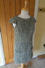 United Colors of Benetton Wool Womens Cap Sleeve Shift Tunic Dress Small S 10