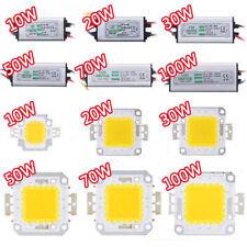 10W20W30W50W70W100W LED Chip LED Driver Transformateur Extérieur Jardin Ampoule