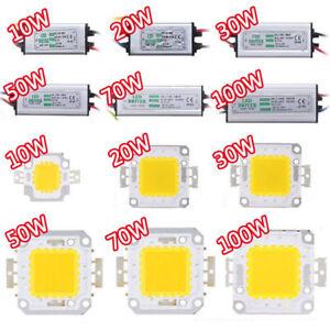 10W 20W 30W 50W 70W 100W LED Driver High Power Supply Waterproof LED Chip Bulb