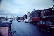 Vintage Kodak Kodachrome Slide Negative, Road / Street Scene, Blackpool, 1990