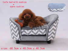 New Pet Dog Bed +EXTRA Cushions Dog Cat Bed Sofa Couch Puppy Lounge Cushion