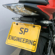 BMW S1000R 2014 SP Engineering Stainless Tail Tidy / Fender Eliminator