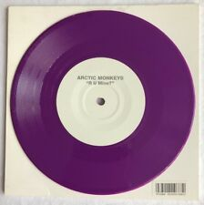 "ARCTIC MONKEYS -R U Mine/Electricity- Rare UK purple Vinyl 'Record Store Day' 7"""