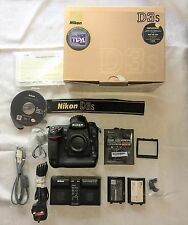 Nikon D3s Full Frame DSLR - Boxed with Extra's - Shutter Count 34548
