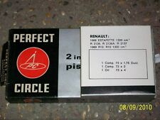 NOS KIT SEGMENTOS PERFECT CIRCLE DIAMETRO 73 MM STD RENAULT ESTAFETTE R10 R12