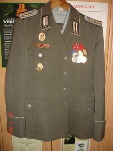 DDR-NVA-Grenztruppen-Medaillen-Abzeichen-Effekten-Uniform-Paradeuniform in g-56!