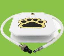 New listing Dog Pet Water Fountain Paw Pedal Step On Outdoor Water Drinking Dispenser System